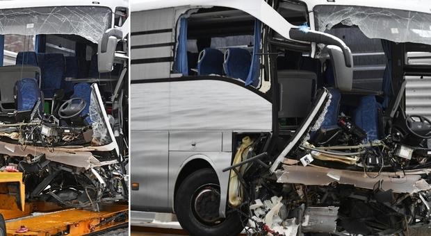 Risultati immagini per incidente flixbus a Zurigo