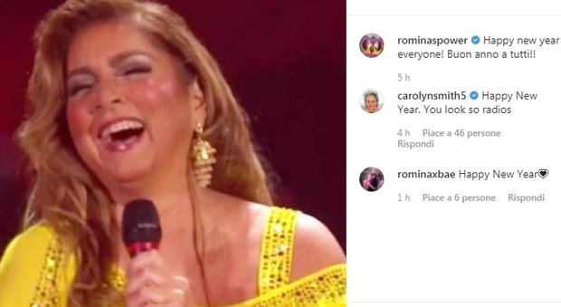 Romina Power a Potenza, la gaffe che gela pubblico e social network al Capodanno Rai