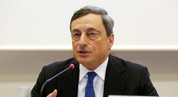 Draghi, l'Europa ha superato la recessione ma c'è spazio per migliorare