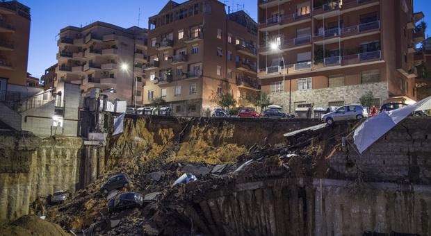 Roma, sei persone a processo per la voragine di Balduina: «Disastro colposo»
