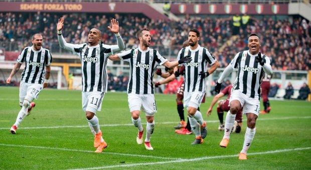 Torino-Juventus 0-1  Alex Sandro risolve il derby senza Higuain 63a1a1ddc36ce