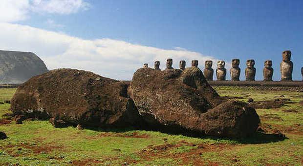 Isola di Pasqua, nell'ombelico del mondo alla ricerca dei moai