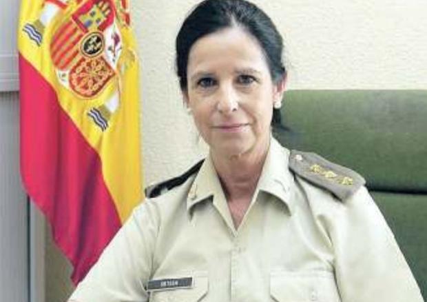 Patricia Ortega Garcìa, prima donna genrale dell'esercito spagnolo
