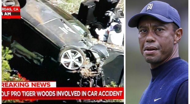 Tiger Woods, Tmz: «Coinvolto in incidente automobilistico»
