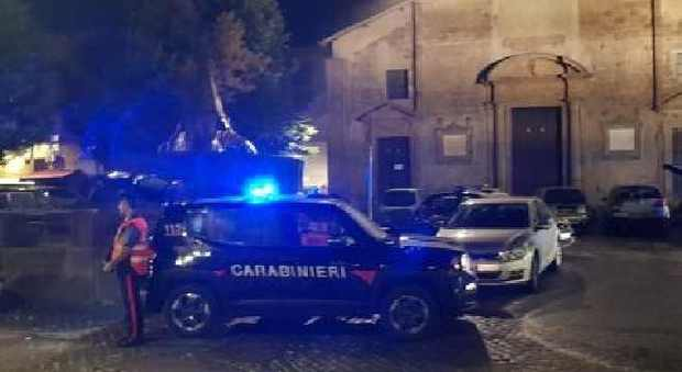 Carabinieri a San Faustino
