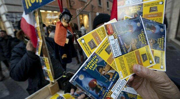 Lotteria Italia, venduto a Latina un biglietto di terza categoria: da 25.000 euro
