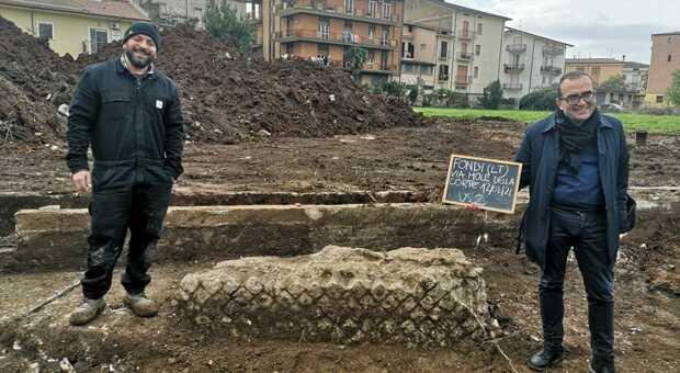Finalmente riportato alla luce l'anfiteatro romano di Fondi