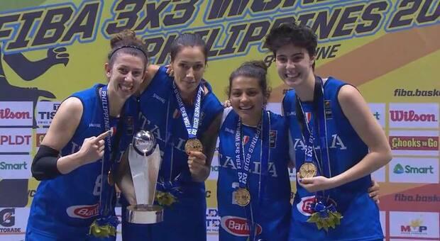 Basket 3x3, Rae Lin D'Alie regala alle azzurre il pass per le Olimpiadi di Tokyo