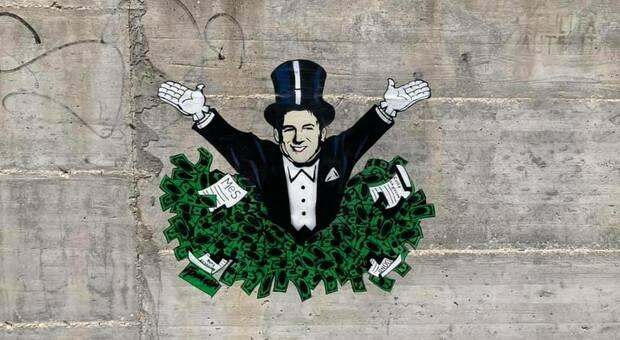 Lo street artist Ipman: «Ridisegno gli angoli grigi della città»