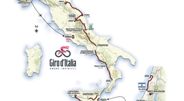 Giro d'Italia, ufficializzate le wild card