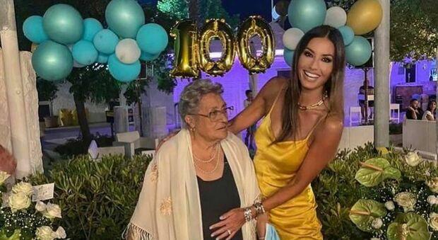 La nonna di Elisabetta Gregoraci compie 100 anni: «Ti amo tanto»