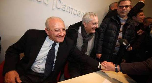Primarie Campania, vince De Luca: sarà rivoluzione democratica
