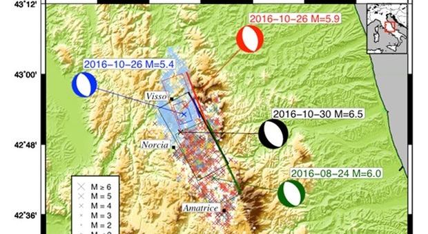 Terremoto a Norcia, l'Ingv: «Il sisma avvenuto 110 anni prima del previsto»