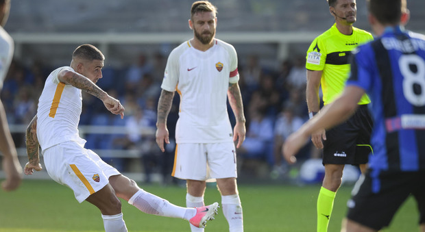 La Roma parte con una vittoria: Kolarov piega l'Atalanta 1-0