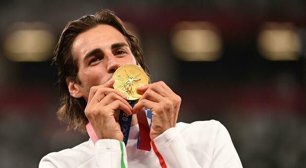 Tamberi: «Questa medaglia è uno spettacolo»