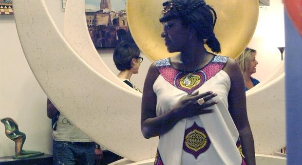 Via Margutta diventa la via della moda con ?Cento stoffe d'Africa?