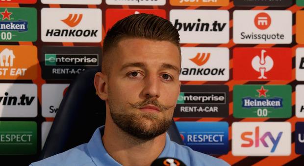 Lazio, Milinkovic-Savic: «Mi sento un leader e sto bene qua. Al derby non sapevo di aver segnato»