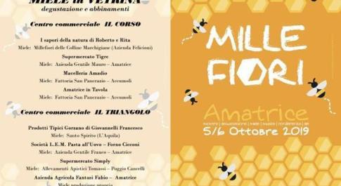 """Rieti, ad Amatrice """"Millefiori, rassegna del miele di qualità"""": le """"ferratelle"""" ricordano il rosone di S.Agostino"""