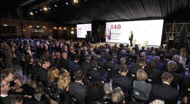 Il Messaggero compie 140 anni, festa a Cinecittà con Mattarella. Cusenza: libertà di stampa va difesa