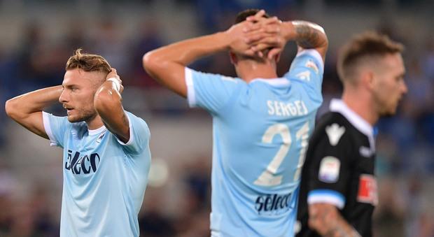 Lazio-Spal 0-0: delusione biancoceleste, Inzaghi parte con il freno a mano tirato