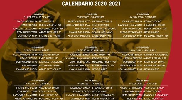 Rugby, ecco i calendari di Coppa Italia e Top 10, primi match il