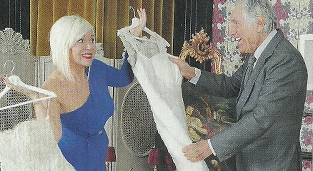 Lando Buzzanca, 83 anni, sposerà Francesca di 40 più giovane: «Siamo due bambini»