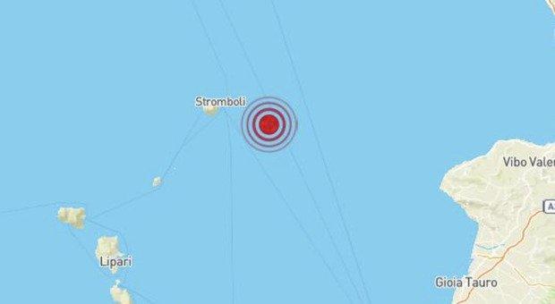 Sicilia, terremoto di magnitudo 3.2 alle isole Eolie in provincia di Messina