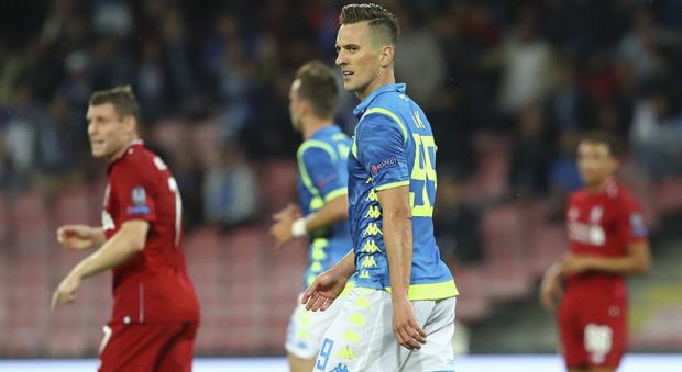 Napoli, Milik rapinato dopo la partita: è stato minacciato con una pistola