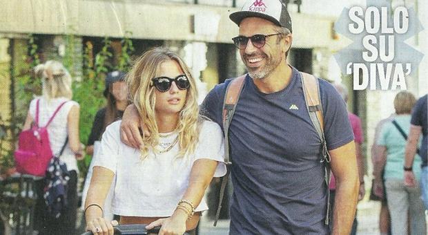 Luca Argentero e Cristina Marino con la figlia Nina Speranza (Diva e donna)