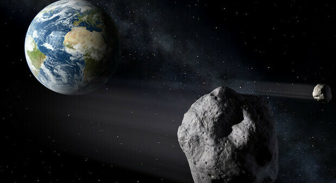 """Due asteroidi """"sfioreranno"""" la terra, ecco quando. Uno è grande quanto la Piramide di Cheope"""