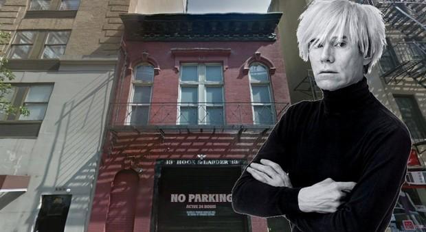 Andy Warhol, venduto per 10 milioni di dollari il primo studio del padre della pop art