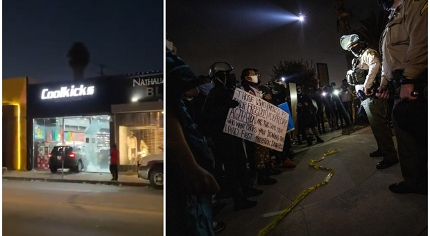 Los Angeles, ucciso un altro afroamericano dalla polizia, scoppia la protesta