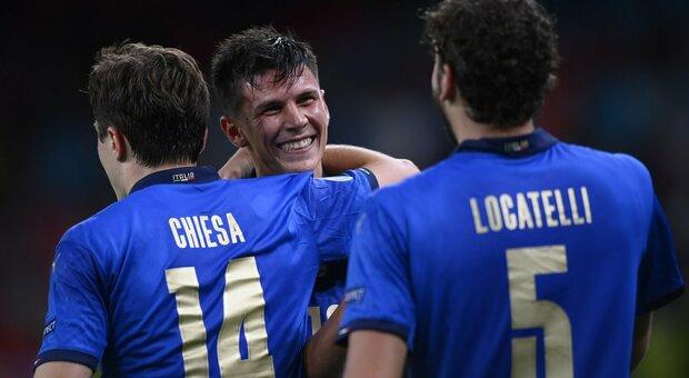 Italia-Austria 2-1, Pessina: «Il gol? Un sogno»; Spinazzola: «Sappiamo soffrire, felici del passaggio del turno»