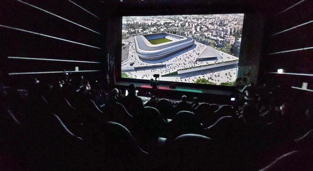 Ternana, Bandecchi presenta il nuovo stadio: «Eccellenza italiana ma voglio anche la clinica convenzionata»