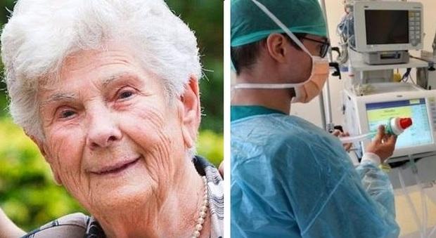 Coronavirus, rifiuta ventilatore polmonare e muore a 90 anni: «Usatelo per quelli più giovani»