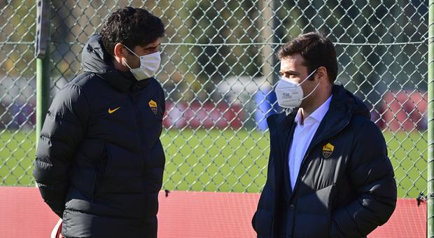 Roma, Pinto ha sconfitto il Covid: oggi a Trigoria per il primo allenamento in vista della Lazio