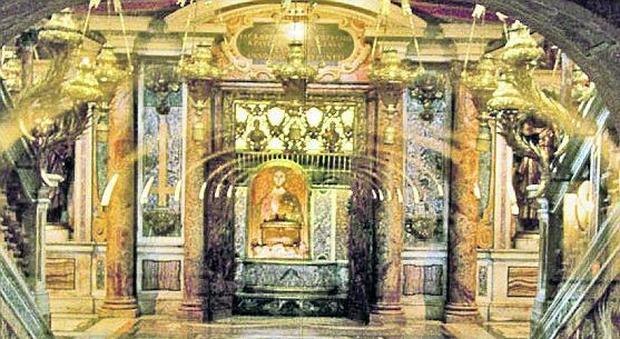 Roma, quel mosaico a San Pietro: la prima icona del Natale