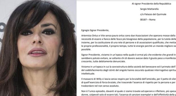 Willy, Mariagrazia Cucinotta scrive a Mattarella: «Chiediamo pene ferme ed efficaci»
