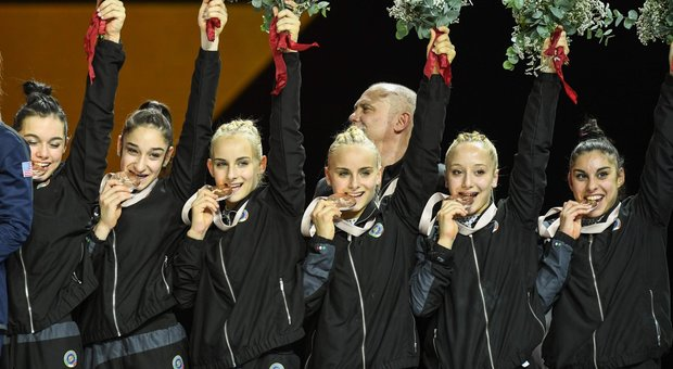Ginnastica Artistica, le Fate Azzurre nella storia: bronzo ai Mondiali dopo 69 anni