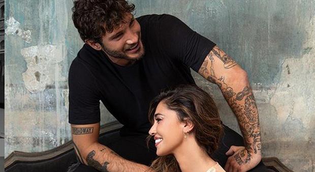 Stefano De Martino e Belen Rodriguez (Instagram)