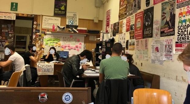 La Sapienza, Fdi: «Il rettore intervenga sull'aula occupata»