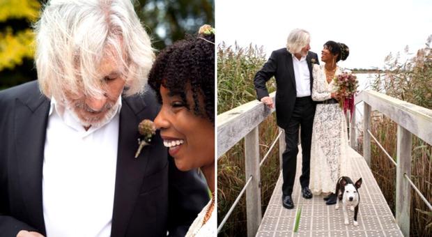 Roger Waters si sposa per la quinta volta a 78 anni
