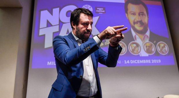 «Tavolo di salvezza nazionale», mossa di Salvini per il dialogo