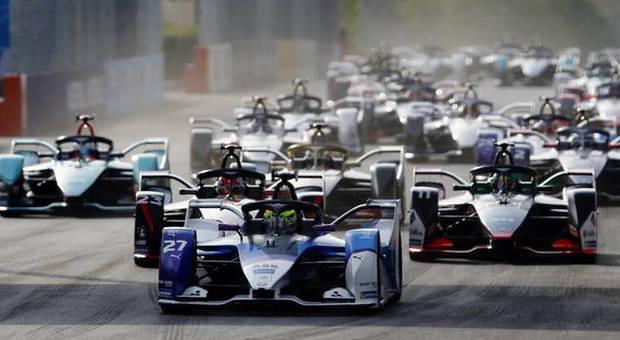 La partenza de l'E-Prix del Cile dello scorso anno