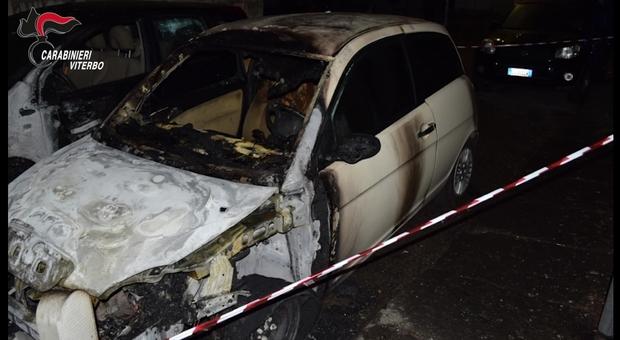 Uno degli attentati compiuti dalla banda di ndrangheta viterbese