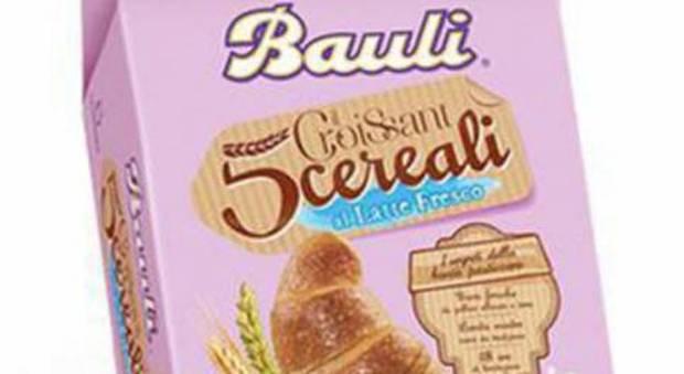 Il ministero richiama un lotto di croissant Bauli: «Rischio salmonella»
