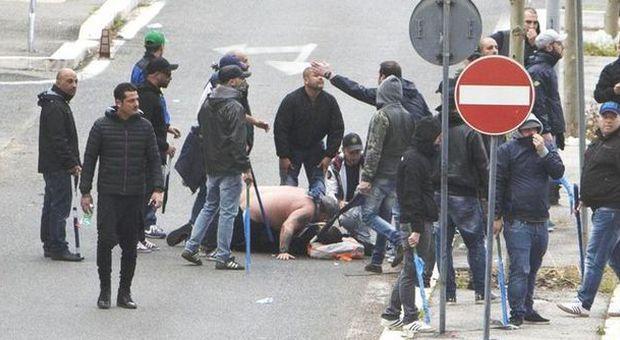 Coppa Italia choc, spari a Roma: feriti 3 tifosi Napoli, uno gravissimo