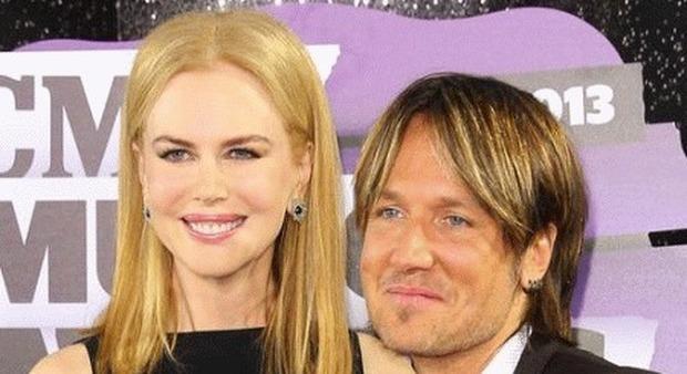 Nicole Kidman e il marito Keith Urban (popsugar.com)