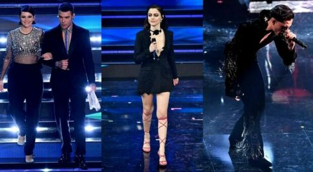 Sanremo 2021, le esibizioni più viste su YouTube: trionfano Fedez e Michielin, ultimo Demon