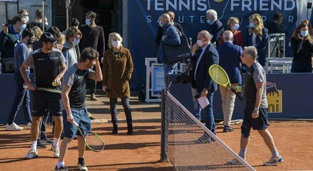 Tennis and Friends, al Foro Italico torna in presenza l'evento che unisce sport e prevenzione